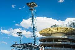 Solar Cell Lantern. Sydney, Australia - February 21, 2017: Solar Cell Lantern in the Olympic Park Sydney Royalty Free Stock Photography