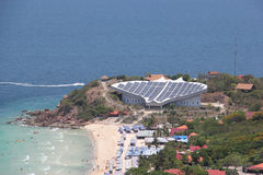 Solar Cell at Larn Island, Pattaya, Thailand Royalty Free Stock Image