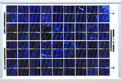 Solar cell module Stock Photography