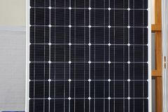 Solar Cell Module. Photovoltaic Solar Cell Renewable Energy Power Royalty Free Stock Photo