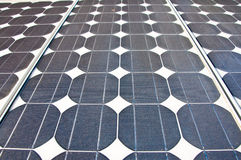 Solar Cell Panel Stock Image
