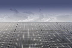 Solar Cell Panel Royalty Free Stock Photos