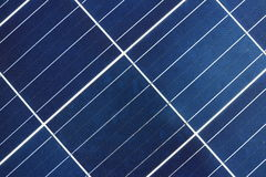 Solar Cell Panel Background and Texture Royalty Free Stock Photos