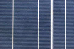 Solar cell panel close up Royalty Free Stock Images