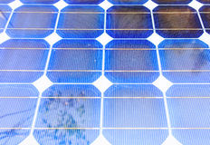 Solar cell panels Stock Photo