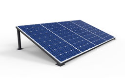 Solar Cell Panels Royalty Free Stock Images