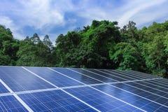 Solar cell panels Stock Photos