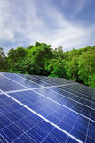 Solar cell panels Royalty Free Stock Image