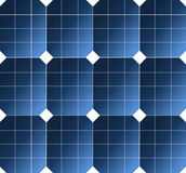 Solar cell pattern Royalty Free Stock Photos