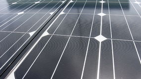 Solar cell plate stock video footage