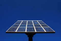 solar cell power panel Royalty Free Stock Image