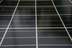 Solar cell ,solar power photo voltaic panel  renewable electric energy  sun Royalty Free Stock Photo