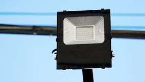 Solar cell street light royalty free stock images