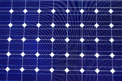 Solar Cell Texture Royalty Free Stock Photography