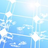 Solar cells (02) Royalty Free Stock Images