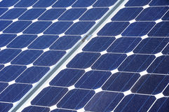 Solar cells. Solar panel surface close up Royalty Free Stock Image
