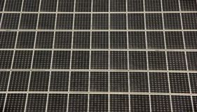 Solar cells stock image
