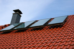 Solar cells Stock Photography
