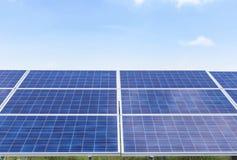 Solar cells alternative energy from the sun Stock Photography