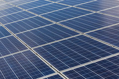 Solar cells alternative energy from the sun Stock Image