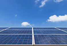 Solar cells alternative renewable energy from the sun Stock Images