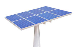 Solar cells isolated Stock Photography