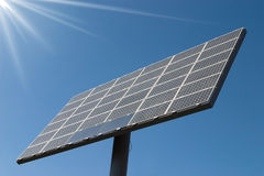 Solar cells panel power Stock Photos
