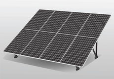 Solar cells panel Royalty Free Stock Photo