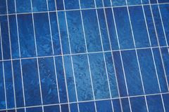 Solar cells panels, photovoltaic, alternative electricity Stock Image