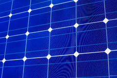 Solar cells pattern background texture Royalty Free Stock Photo