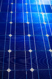 Solar cells pattern background texture Royalty Free Stock Image