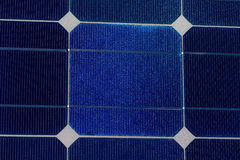 Solar cells pattern background texture Royalty Free Stock Photography