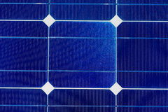 Solar cells pattern background texture Royalty Free Stock Photos