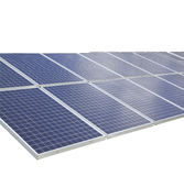 Solar Cells texture background. Stock Photography