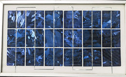 Solar cells Royalty Free Stock Photos