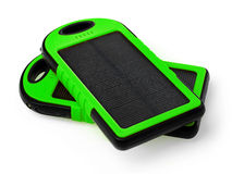 Solar chargers Stock Photo