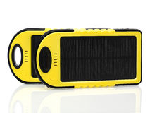 Solar chargers Royalty Free Stock Images