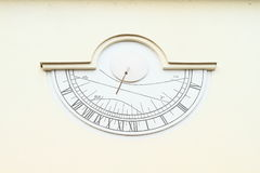Solar clocks Stock Photography