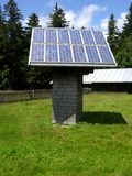 Solar collector Stock Photo