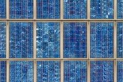 Solar collector. Closeup image of a solar collector Stock Image