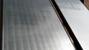Solar Collector. Photo of solar collector panel royalty free stock images