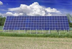 Solar Collector Royalty Free Stock Photography