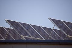 Free Solar Collectors Royalty Free Stock Photos - 1134258