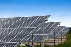 Free Solar Collectors Royalty Free Stock Photography - 14941947