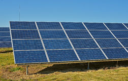 Solar collectors Royalty Free Stock Photography