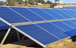 Solar collectors Stock Photos
