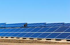 Solar collectors Stock Photos