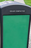 Solar Compactor Royalty Free Stock Images