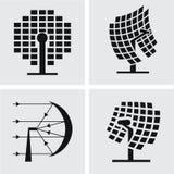 Solar concentrado Imagens de Stock Royalty Free