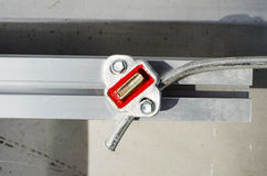 Solar construction royalty free stock photo
